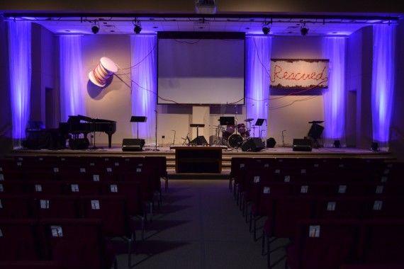 Rescued Thread Church Stage Design Ideas Church Stage Church Stage Design Stage Design