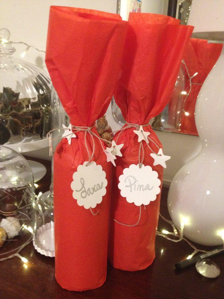 Wine Christmas Packaging.Pin On Wine Gift Bags Diy