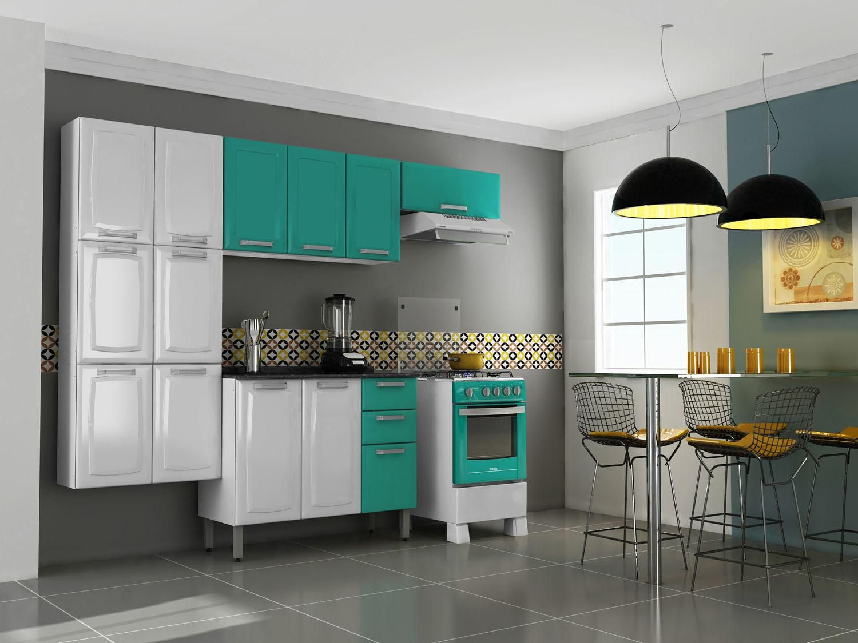 Cozinha Compacta Itatiaia Luce Itatiaia Balc O Com Tampo 3 Portas