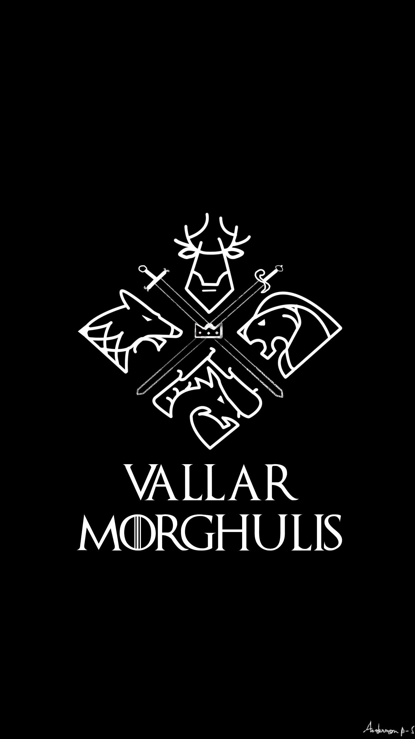 Game of thrones, Vallar Morghulis #gameofthrones