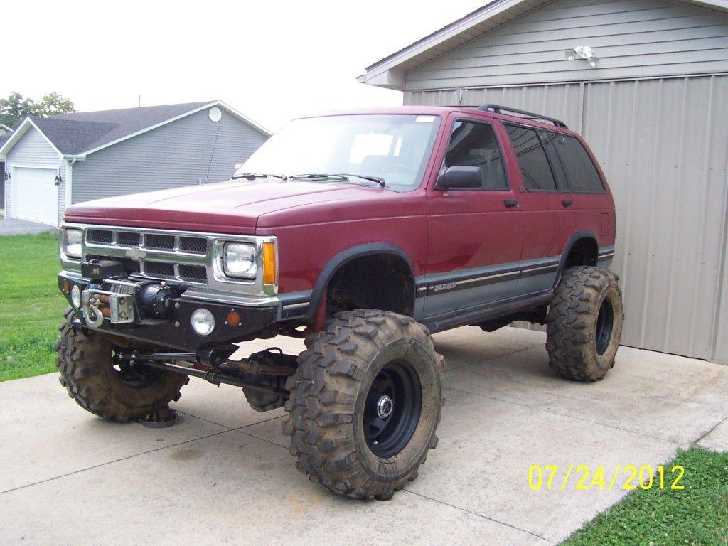 Chevrolet s10 zr2 4x4 93 s10 blazer dana 60 14bff street trail columbia ky pirate4x4