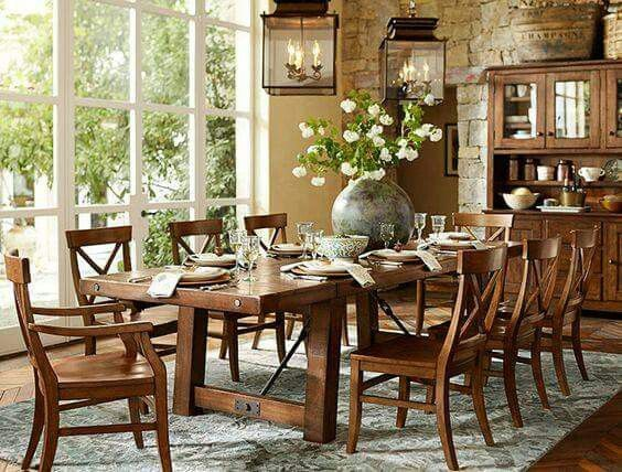 Pinnatalia On Decorating  Pinterest  Decorating Cool Pottery Barn Dining Room Tables Review