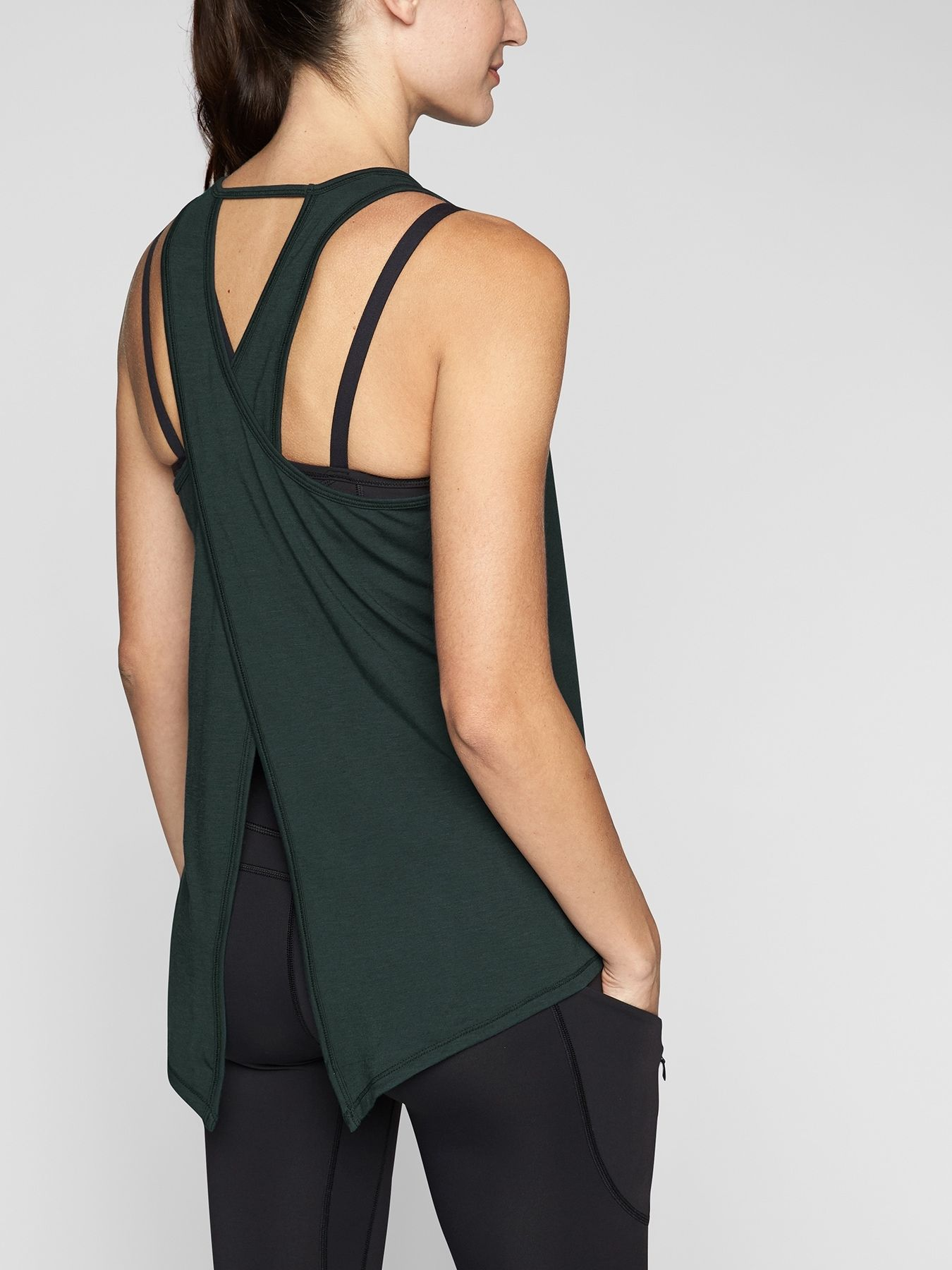 Essence Tie Back Tank Athleta 44 (With images