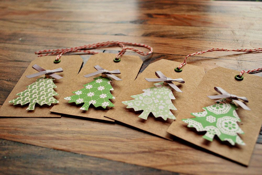 christmas gift tags christmas tree gift tags by oscarandollie. , via Etsy.