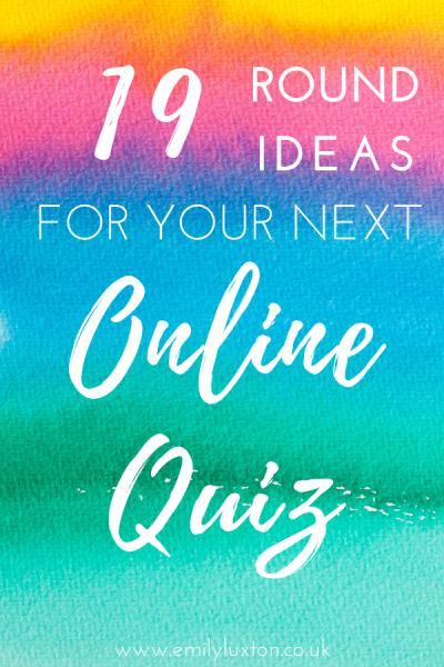 Virtual Quiz Round Ideas 19 Fun & Creative Ways to Spice