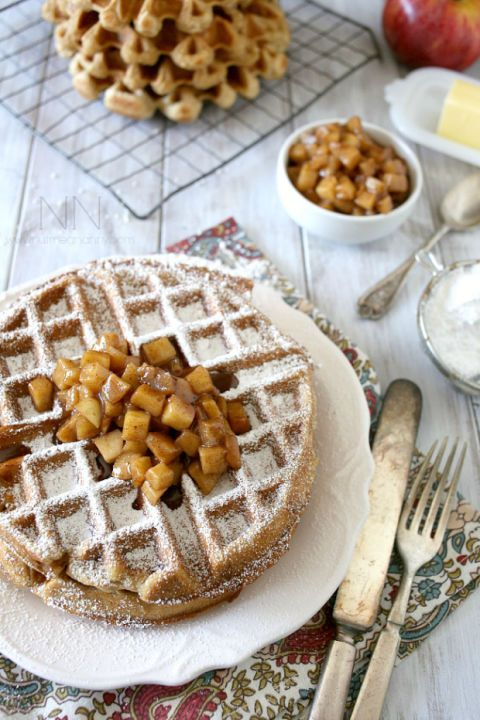 Meet your new favorite fall breakfast. Get the recipe from Nutmeg Nanny.