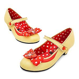 Disney Minnie Mouse Costume Shoes for Kids Yellow Yellow