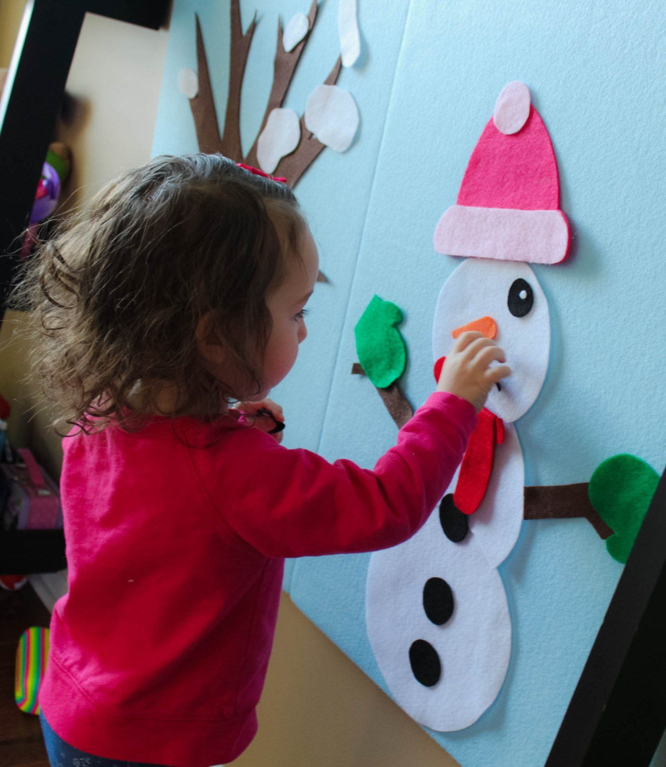 Build Your Own Snowman Great Indoor Winter Activity