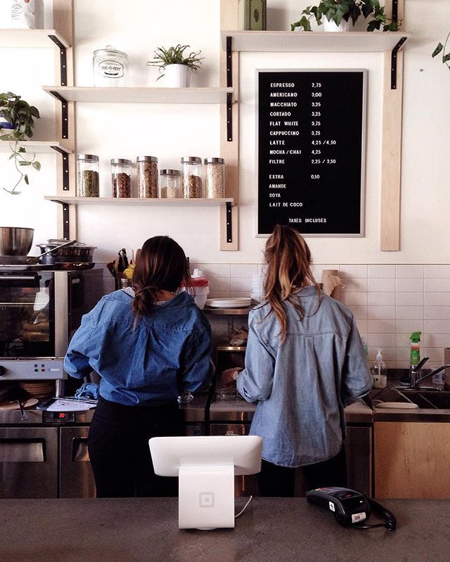 Sure And Steadfast With Images Barista Outfits Barista
