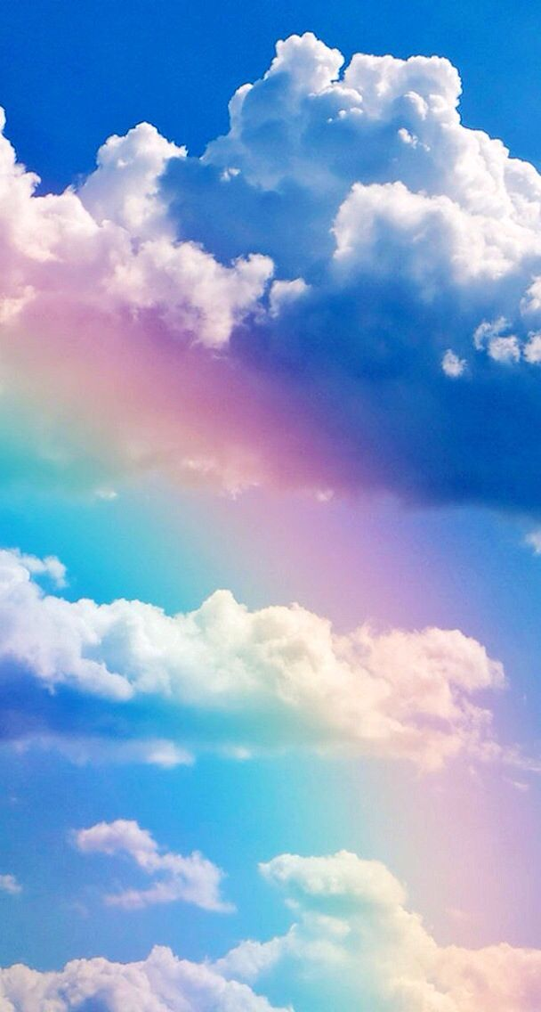 Rainbows | God's Creations! in 2019 | Cloud wallpaper ...