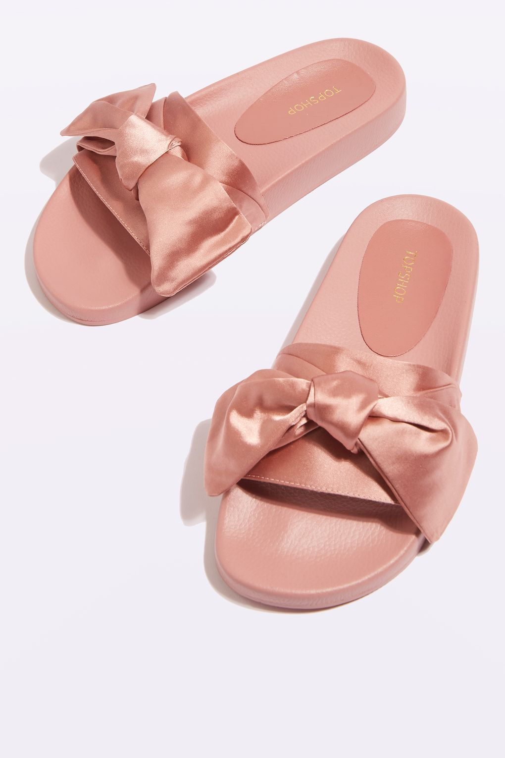 pick up 84e42 99a14 Carousel Image 0 | Sandals | Topshop shoes, Bow slides, Bow ...