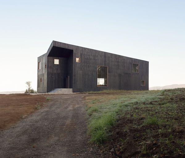 Casa Hualle: Ein Einfamilienhaus mit drei Landschaft in Chili