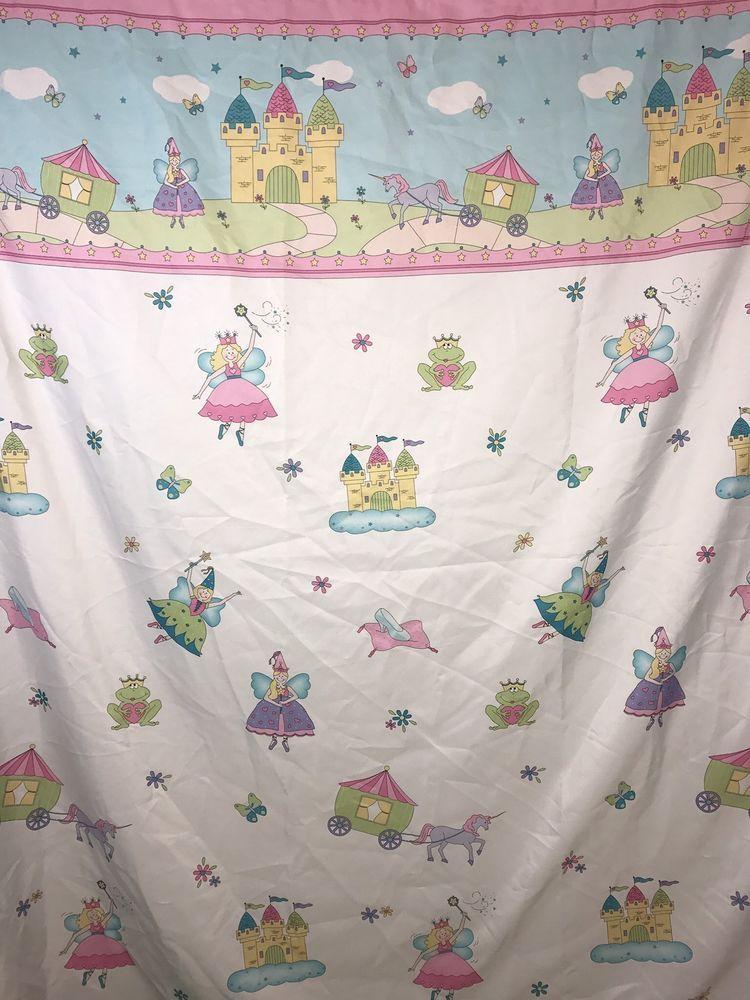 Princess Shower Curtain By Saturday Knight Ltd Ebay Princess