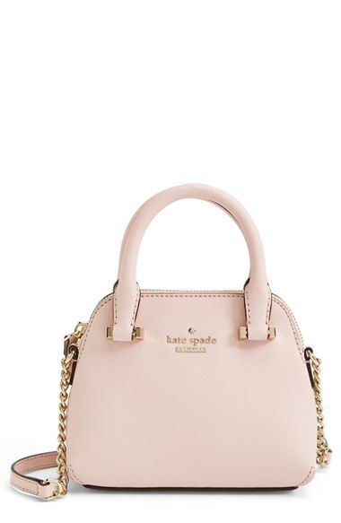 Kate Spade New York Cedar Street Mini Maise Crossbody Bag Nordstrom Swell Rich Saffiano Leather Fashions A Perfectly Proportioned