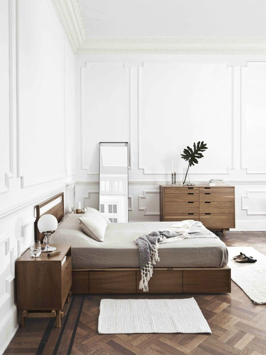 Pin de fer scarlato en muebles | Pinterest | Madera oscura, Camas y ...