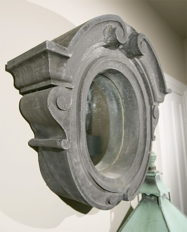 18th c zinc oeil de boeuf mirror antiques and interior objects pinterest mirror - Oeil de boeuf ...