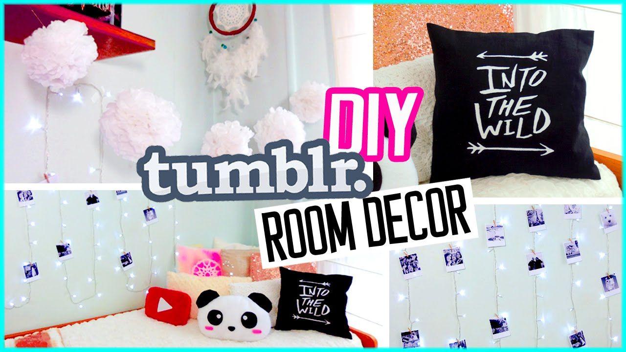 Tumblr room ideas quotes - Diylover Diy Tumblr Room Decor Diy Polaroids Urban Outffiters Pillow More