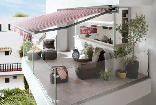 Gardenplaza - Innovative Markise punktet mit Qualität, Funktion und - markisen fur balkon design ideen