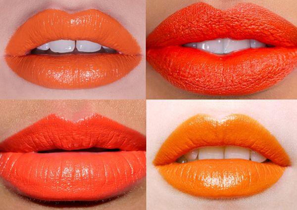 オレンジ色のマットな口紅について  http://www.belleandbunty.co.uk/blog/be-mine-clementine/