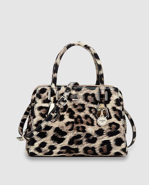 nuevo producto 99140 9d242 Bolso de mano Sofie Petite con estampado animal print ...