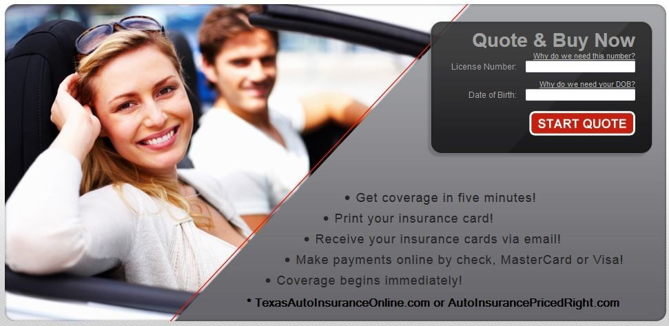 Texas Auto Insurance Online Auto Insurance Quotes Insurance