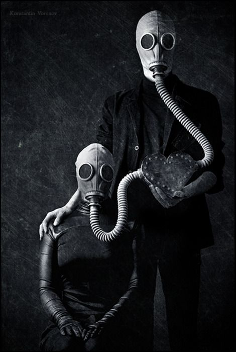 lovers - ❦ www.pinterest.com/WhoLoves/Peculiar ❦ #peculiar #weird #strange