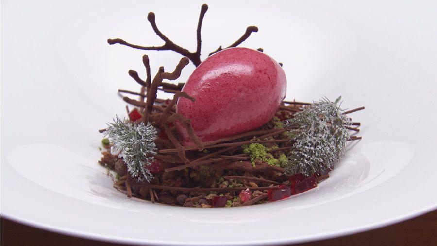Chocolate forest floor masterchef australia desserts pinterest
