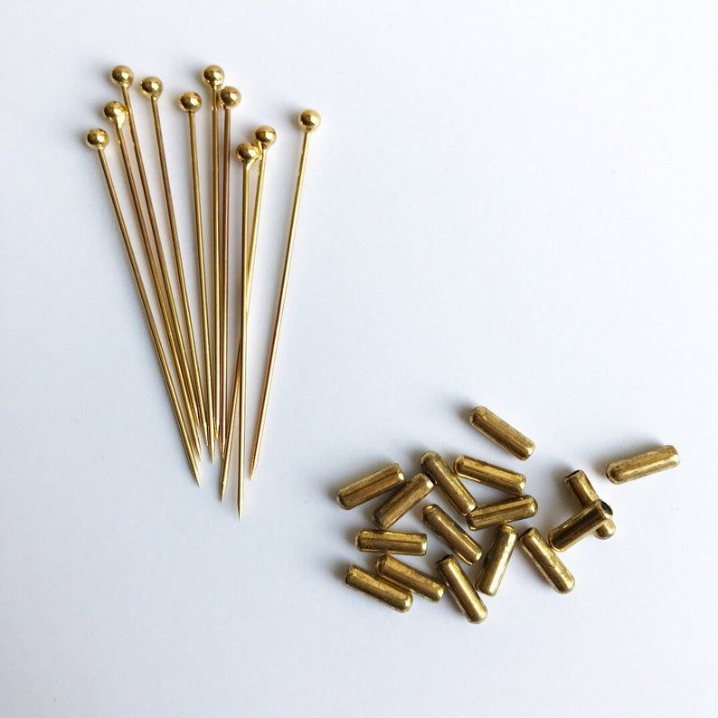 Ball Headed Pin Brooch Pin Hat Pin Hijab Pin Lapel Pin Blank Settings For Crafts Jewelry Making Findings Head Pins Hat Pins Pin