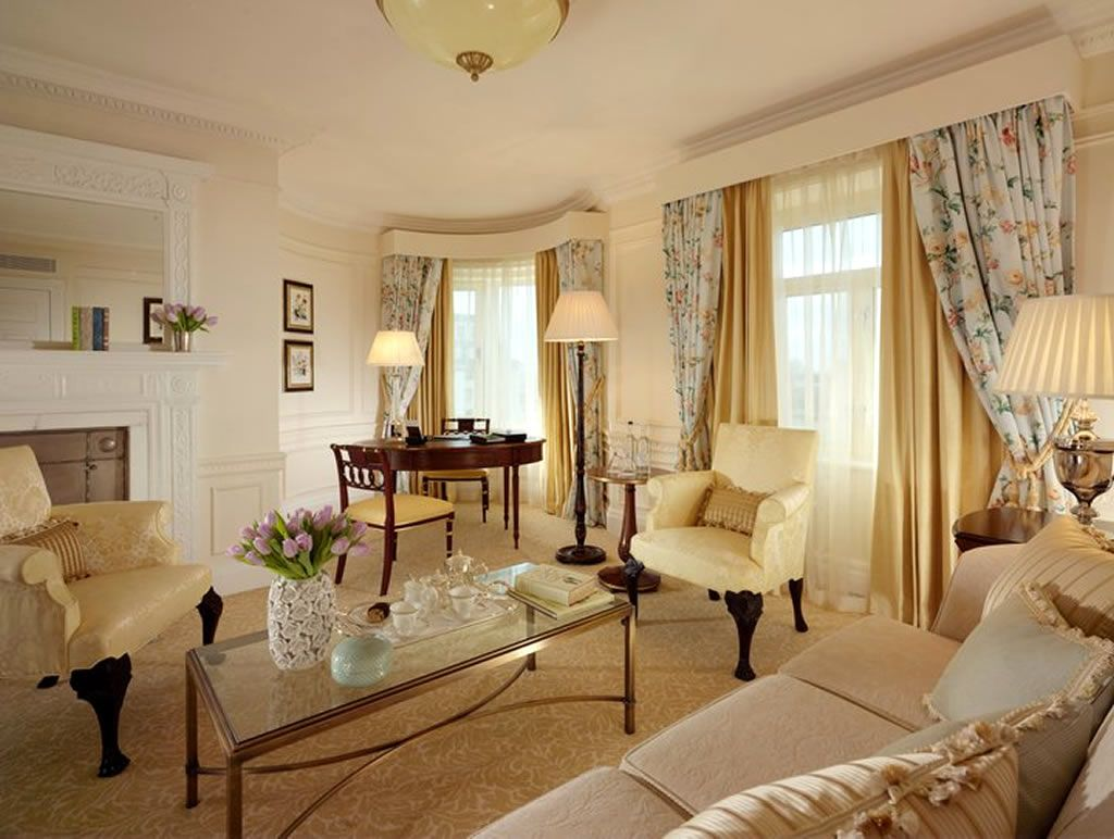 savoy hotel interiors images |  edwardian suite room