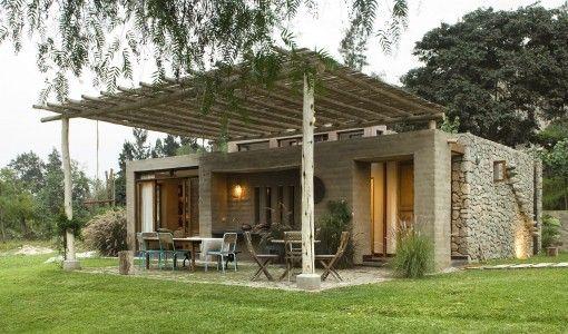 Casa de campo con adobe fotos gonzalo c ceres dancuart for Modelos de casas fachadas fotos