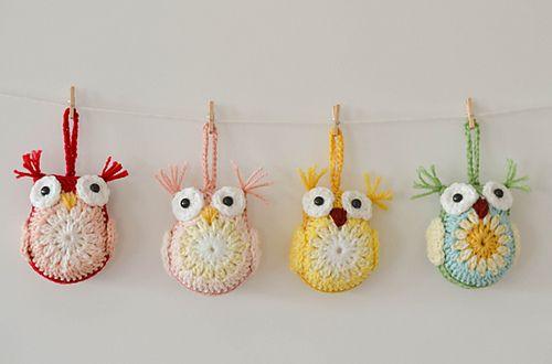 Ravelry: DownGrapevineLane's Owls