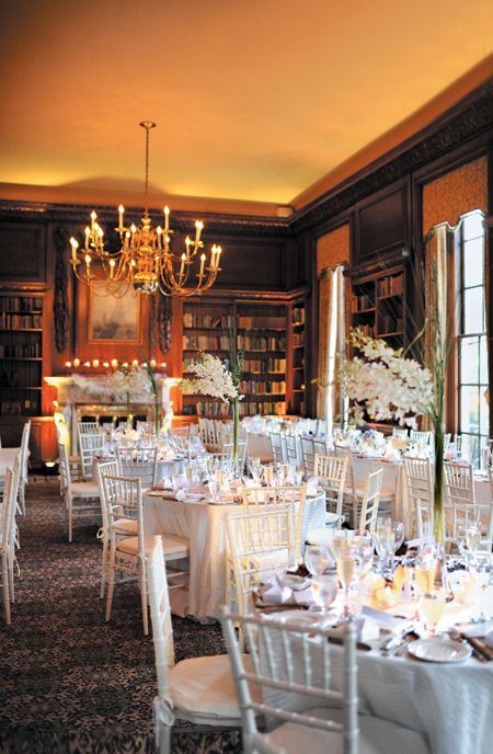 An Intimate Library Wedding At The Hampshire House