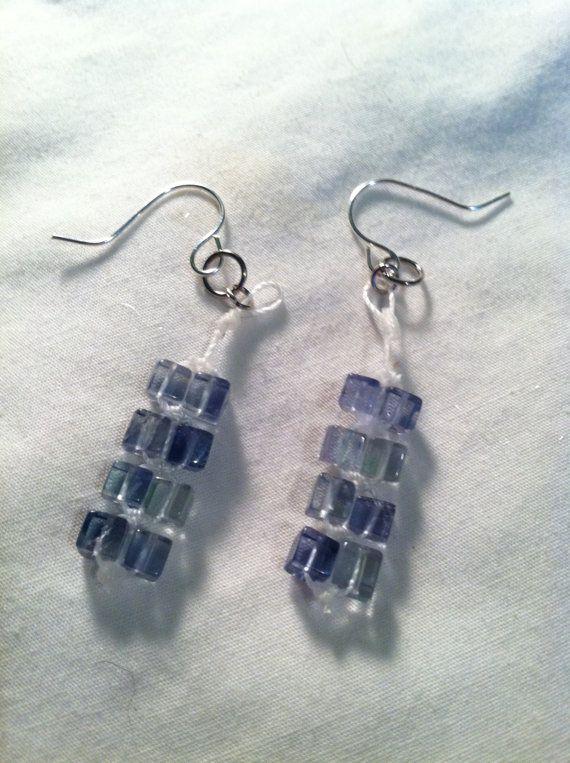 Blue fluorite Earrings