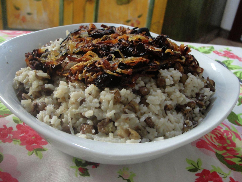 Arroz Com Lentilhas Recipe With Images