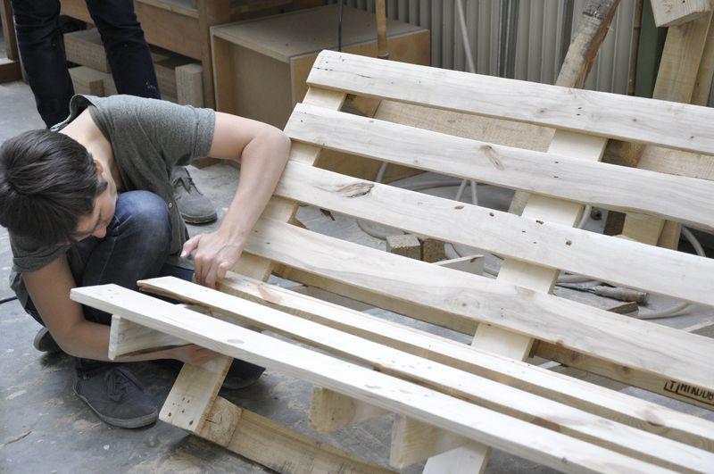 """DIY! Die Palettenbank von """"we upcycle""""   Garten   Pinterest ..."""