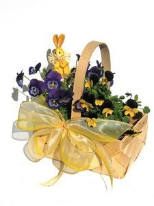 Easter basket ideas for a wife pinterest easter baskets easter easter basket for the garden lover negle Gallery