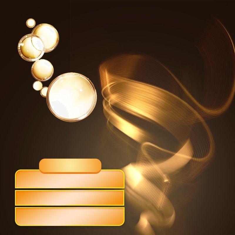 فتحة خلفية خلفية تأثير الضوء خلفية ذهبية تعزيز العناية بالبشرة Edison Light Bulbs Wall Lights Light Bulb