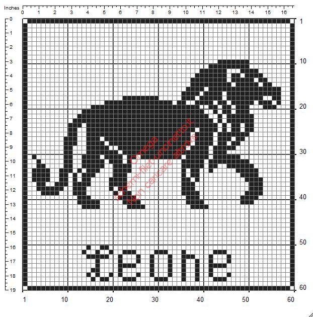 Leone segni zodiacali 60 x 60 schemi gratuiti uncinetto for Schemi di garage gratuiti