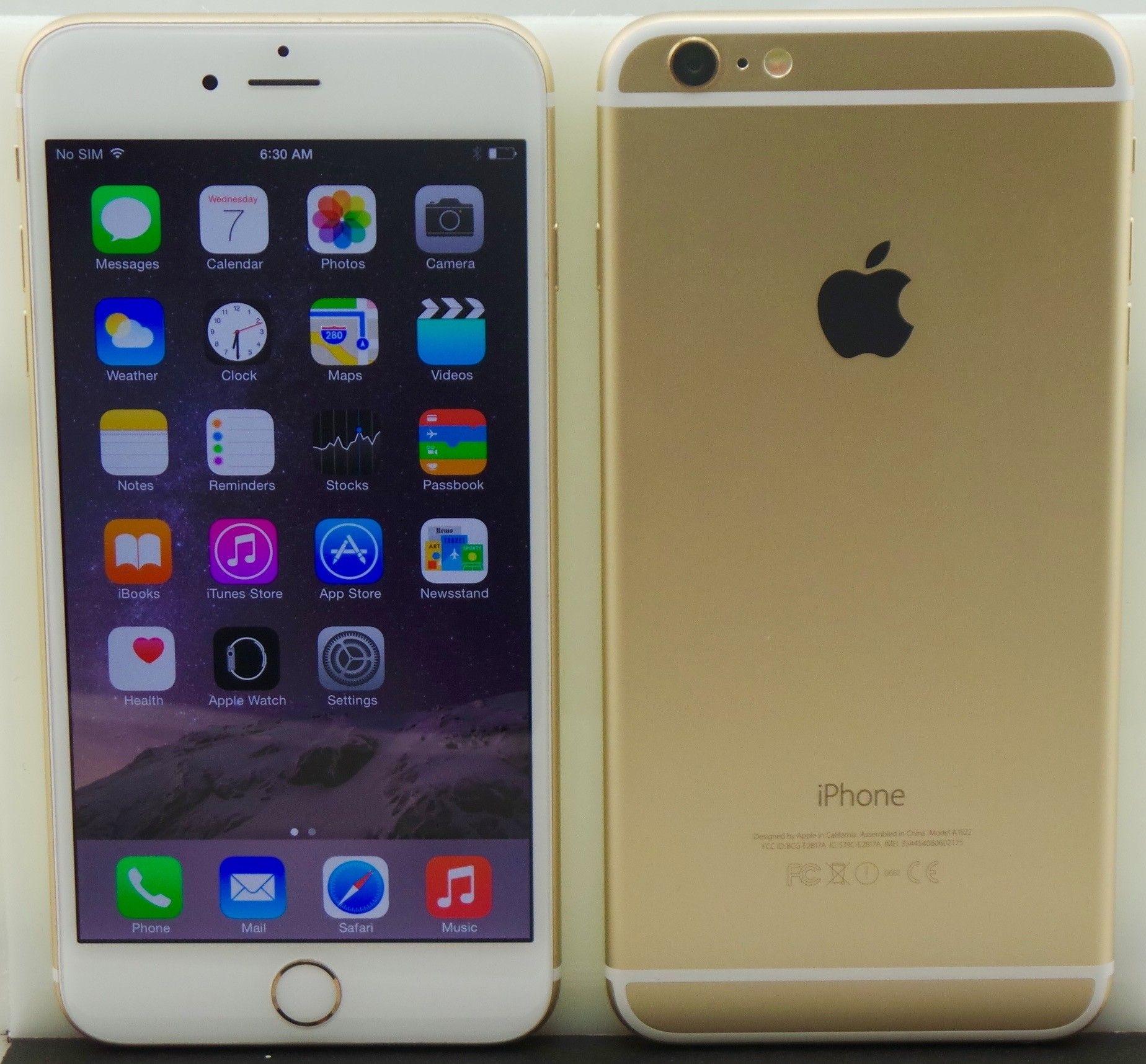 Apple Iphone 6 Plus A1522 16gb Gold Unlocked Mint Iphone Apple Iphone 6s Plus Apple Iphone 6