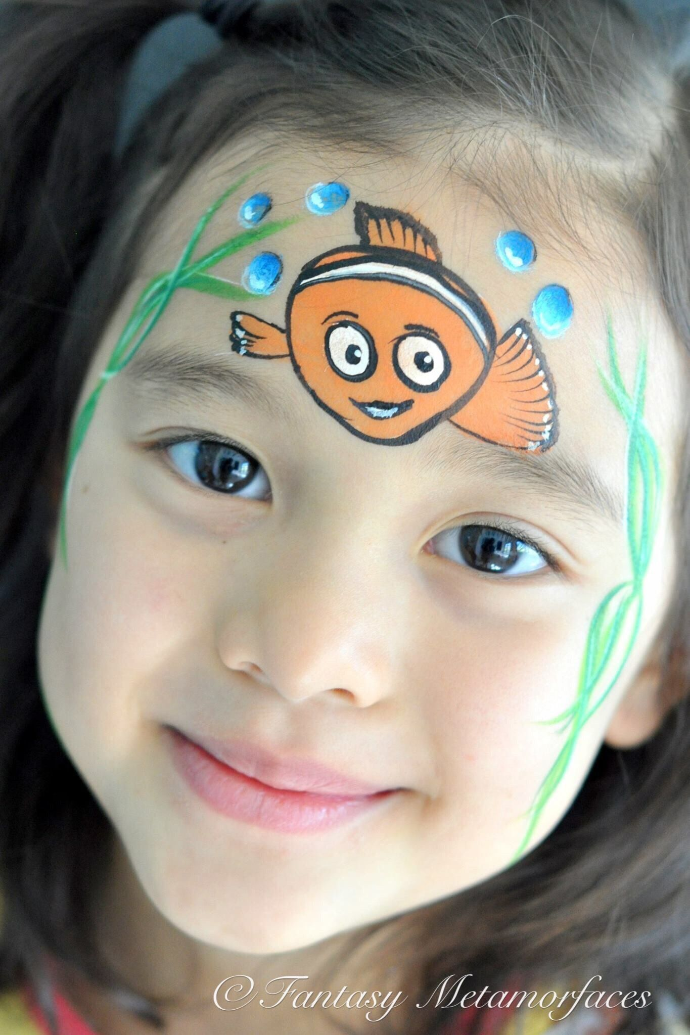 Face Paint Supplies Adelaide Face Paint Nemo Inspired By Rubilinda Rosado Characters Diy