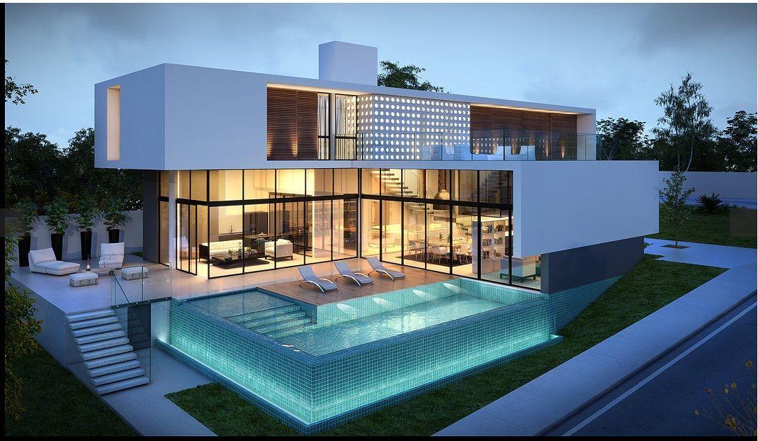 Pin de tejdi en design pinterest casas - Ver casas de lujo por dentro ...