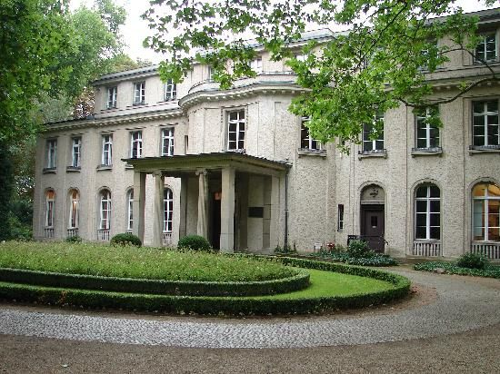 Haus der Wannsee Konferenz Berlin the villa where