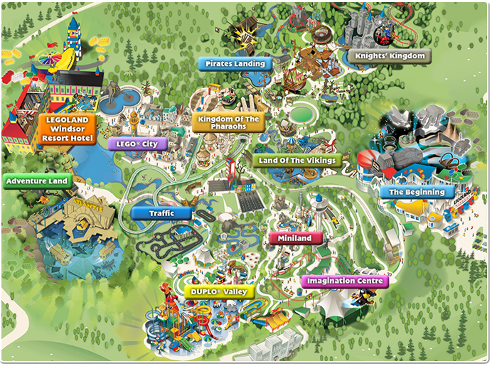 Rides Attractions Legoland Windsor Berkshire 34 50 Places To