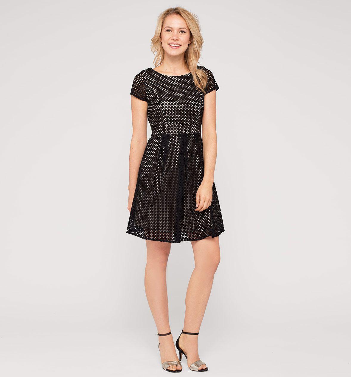 damen glamour-kleid in schwarz - mode günstig online kaufen