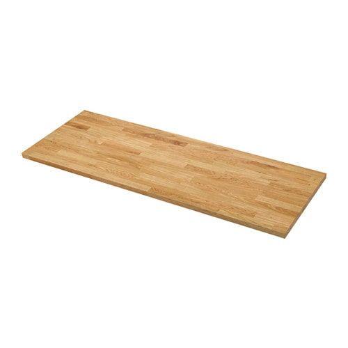 Karlby Plan De Travail Sur Mesure Chene Plaque 45 1 63 5x3 8 Cm Comptoir Ikea Et Materiaux Naturels