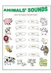 english worksheet animals sounds worksheets. Black Bedroom Furniture Sets. Home Design Ideas