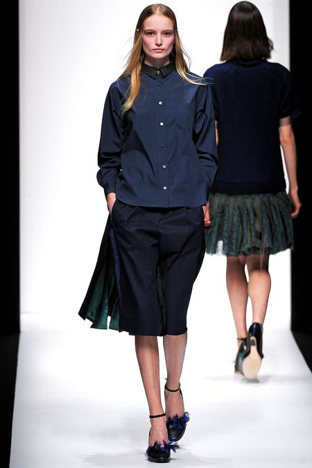 Sacai Spring 2013 Ready-to-Wear Collection Slideshow on Style.com