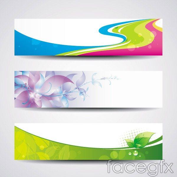 Creative banner templates vector | Banners | Pinterest | Creative ...