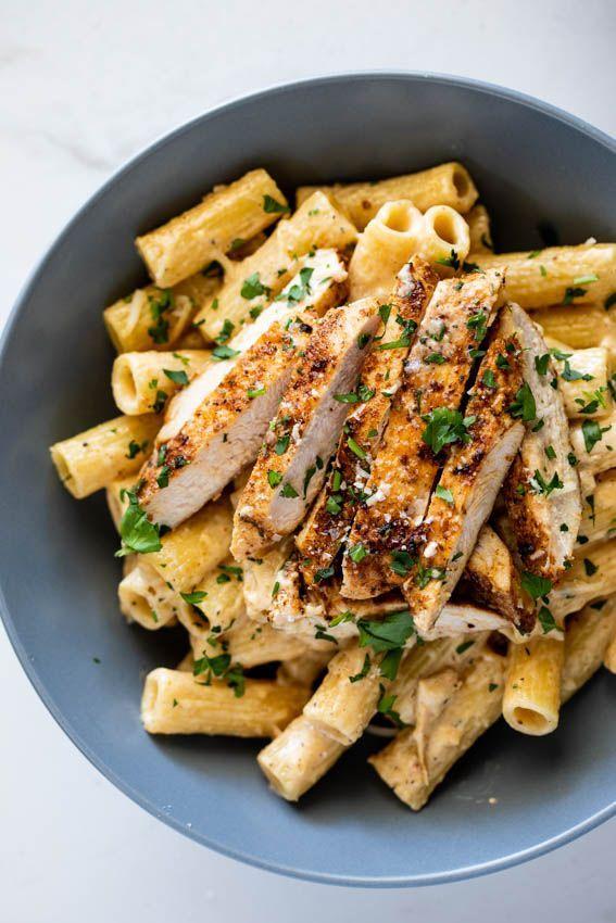 Easy Cajun Chicken Pasta Simply Delicious Recipe Easy Cajun Chicken Pasta Cajun Chicken Pasta Cajun Chicken Pasta Creamy