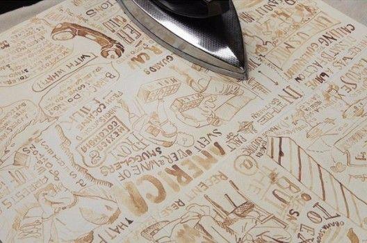 papier altern neues papier alt wirken lassen anleitung dekoking com 1 dekoideen papier. Black Bedroom Furniture Sets. Home Design Ideas